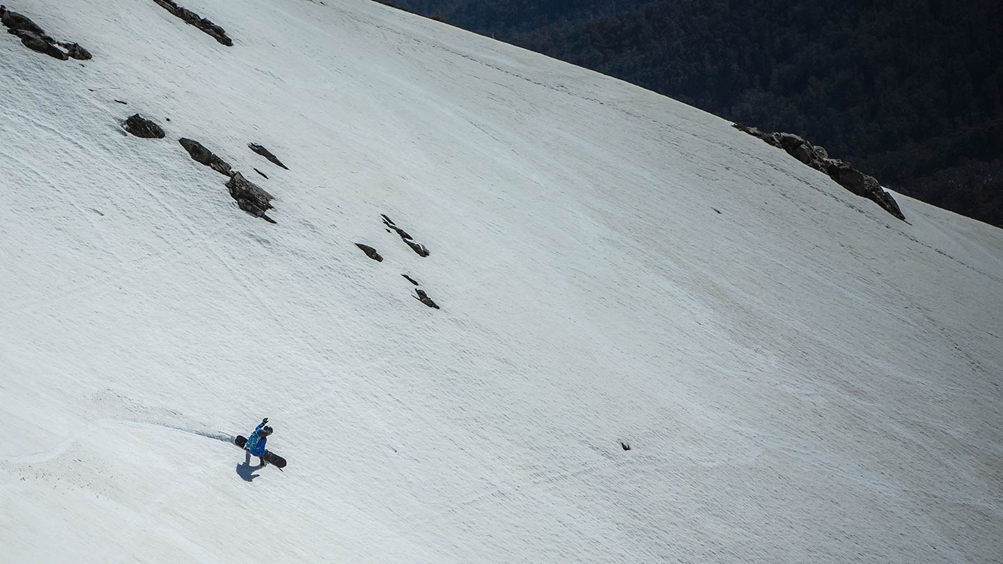 mt bogong backcountry splitboarding